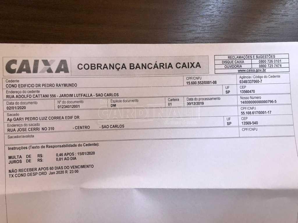 Alugar Apartamento / Padrão em São Carlos R$ 1.056,00 - Foto 25