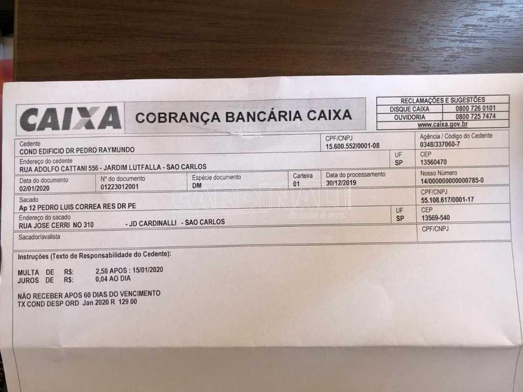 Alugar Apartamento / Padrão em São Carlos R$ 1.056,00 - Foto 21